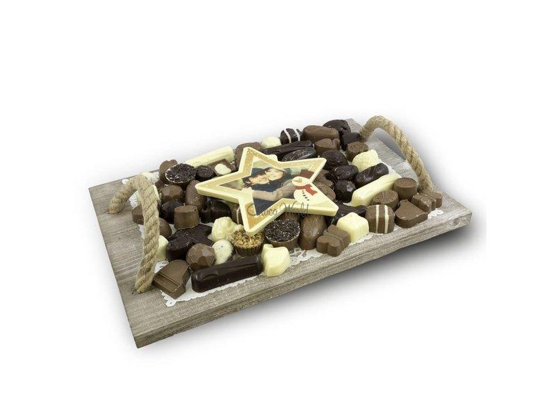 Chocolaterie Vink Slagroom Bonbons Assortiment Super met Chocolade Kerstster