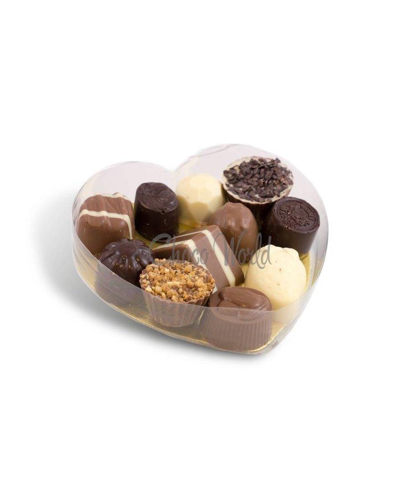 Chocolaterie Vink Slagroom Bonbons in Hartvorm Klein