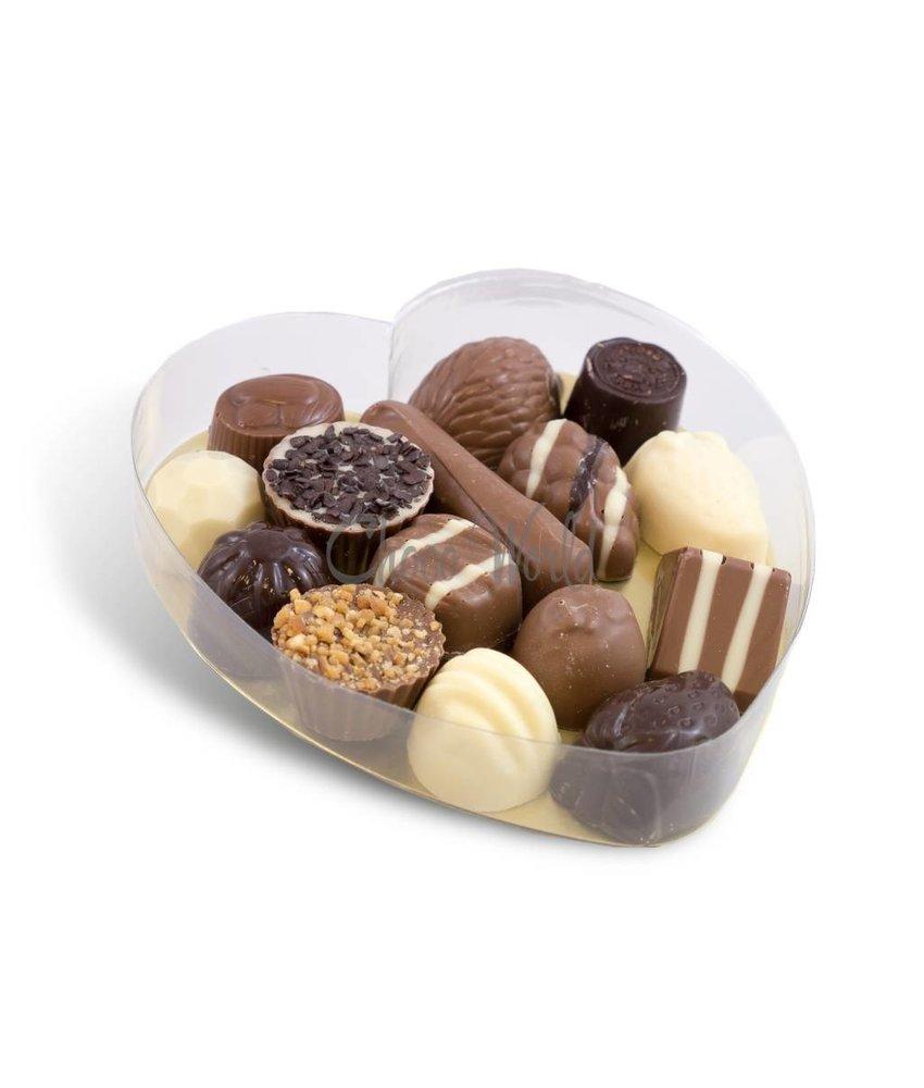 Chocolaterie Vink Slagroom Bonbons in Hartvorm Groot
