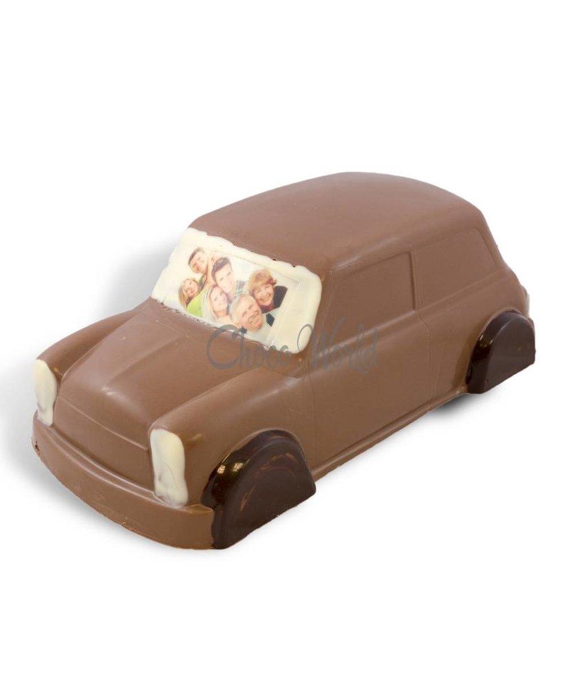 Chocolaterie Vink Mini Cooper met foto