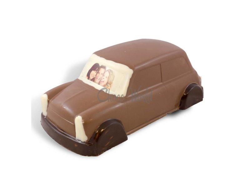 Chocolaterie Vink Mini Cooper met Foto of Logo