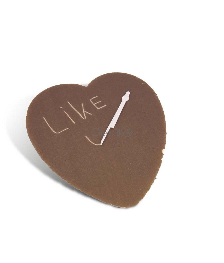 Chocolaterie Vink Chocolade hart kingsize