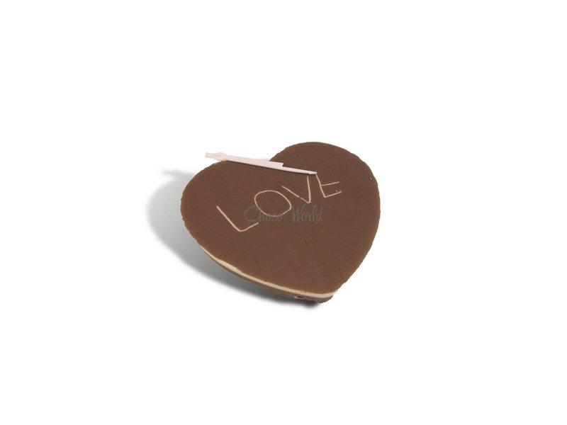 Chocolaterie Vink Chocolade hart klein