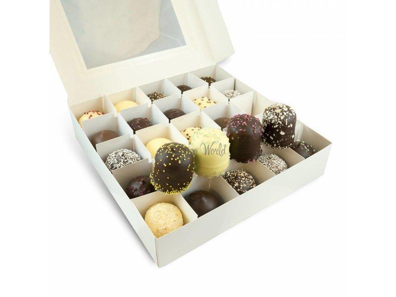 Chocolaterie Vink Chocozoenen 25 stuks mix