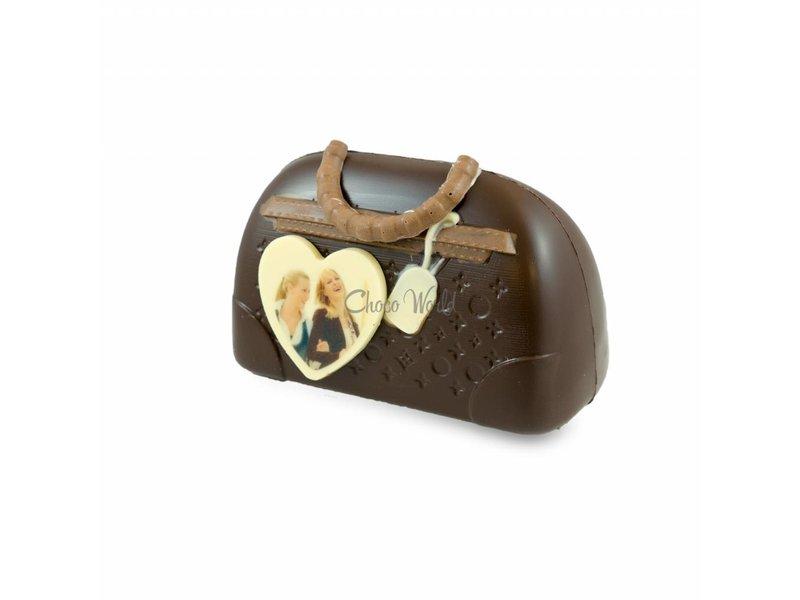 Chocolaterie Vink Chocolade Handtas Tas met foto