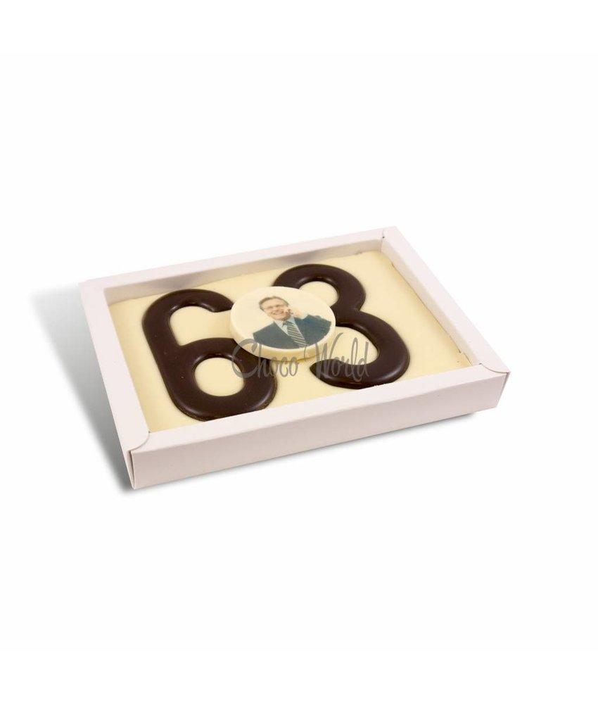 Chocolaterie Vink Cijfer Dubbel met foto