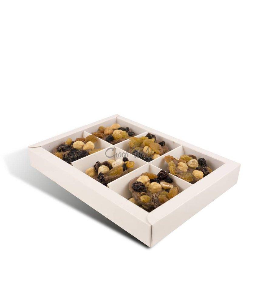 Chocolaterie Vink Flikken hazelnoot rozijn