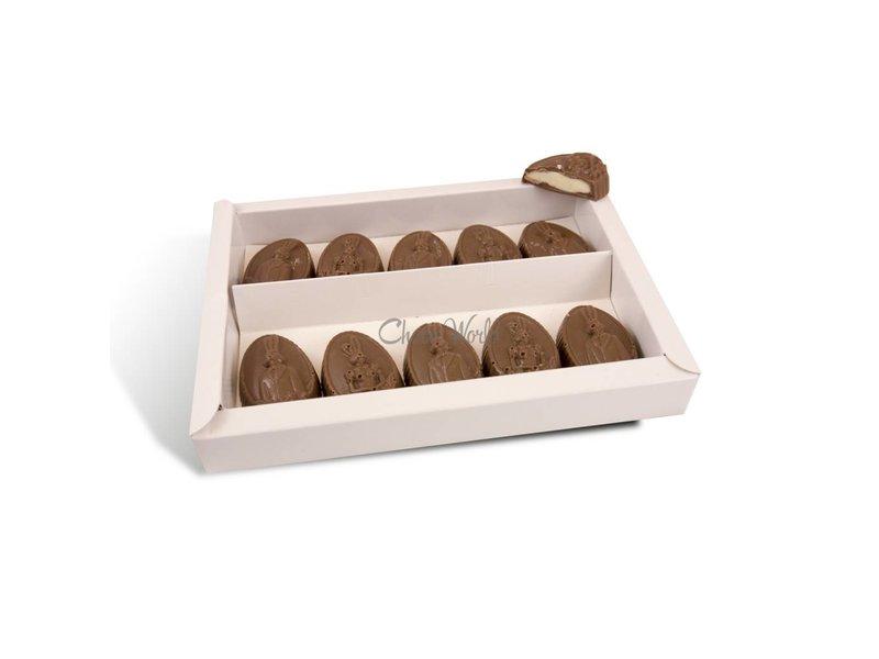 Chocolaterie Vink Paaseitjes 10 st. met slagroom