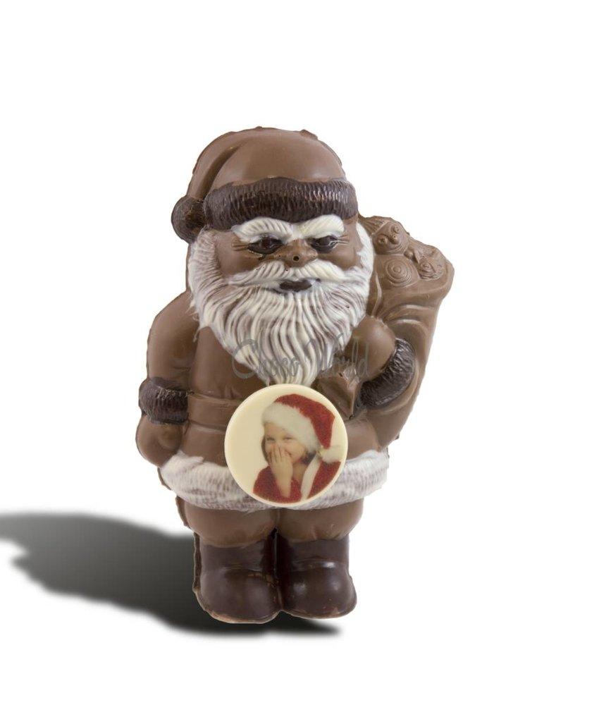 Chocolaterie Vink Kerstman klein met foto