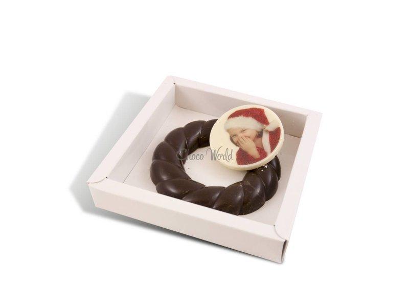 Chocolaterie Vink Kerstkrans met foto