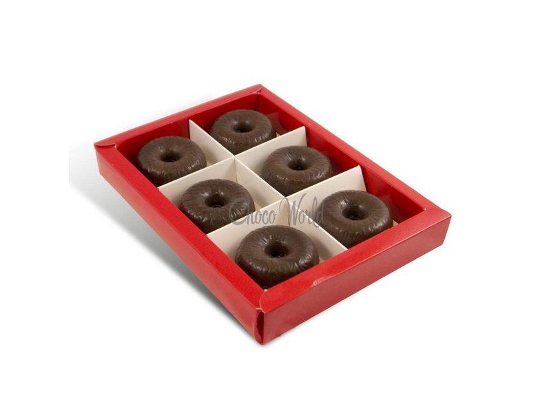 Chocolaterie Vink Kerstkransjes 12 st. slagroomvulling