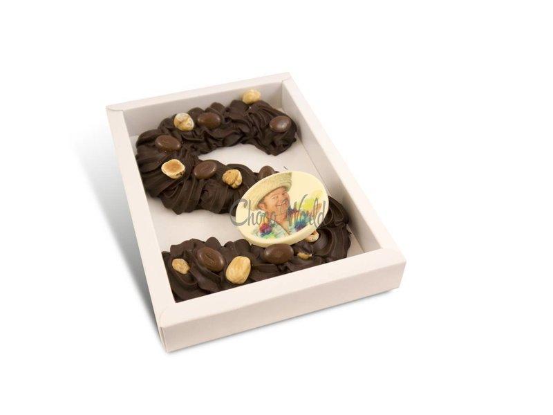 Chocolaterie Vink Spuitletter met foto