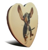 Chocolaterie Vink Chocolade hart klein met foto