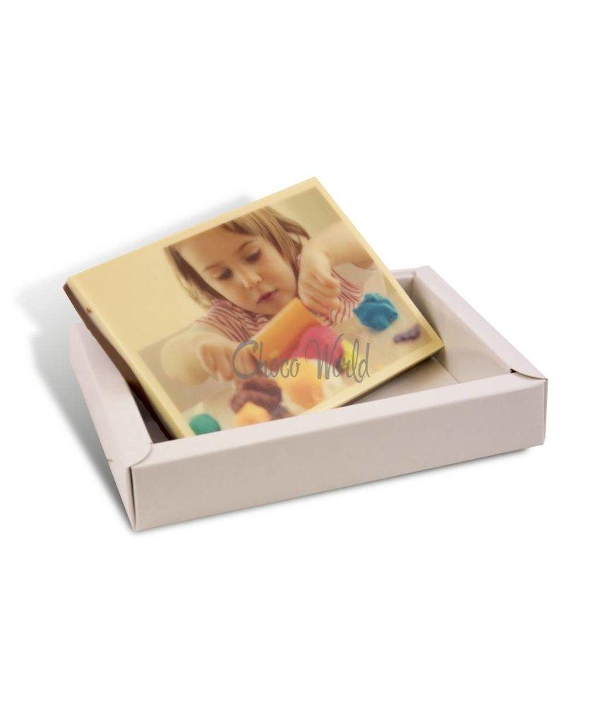 Chocolaterie Vink Kleine chocoladekaart met foto