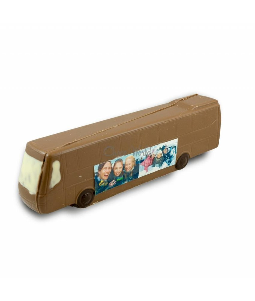 Chocolaterie Vink Bus met foto