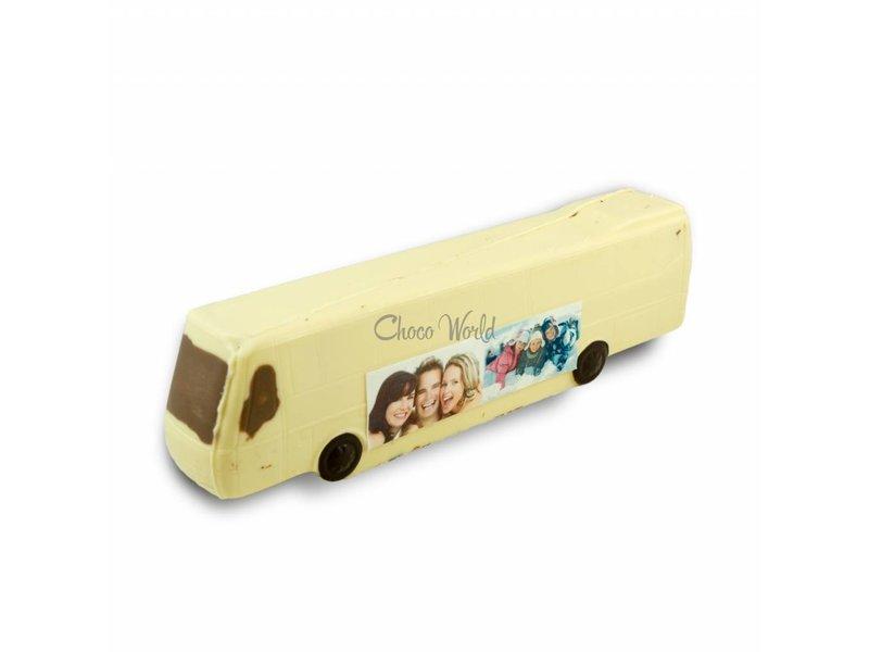 Chocolaterie Vink Chocolade Bus met foto