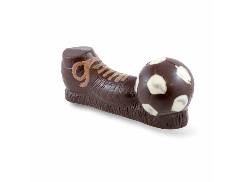 Chocolaterie Vink Voetbalschoen met bal