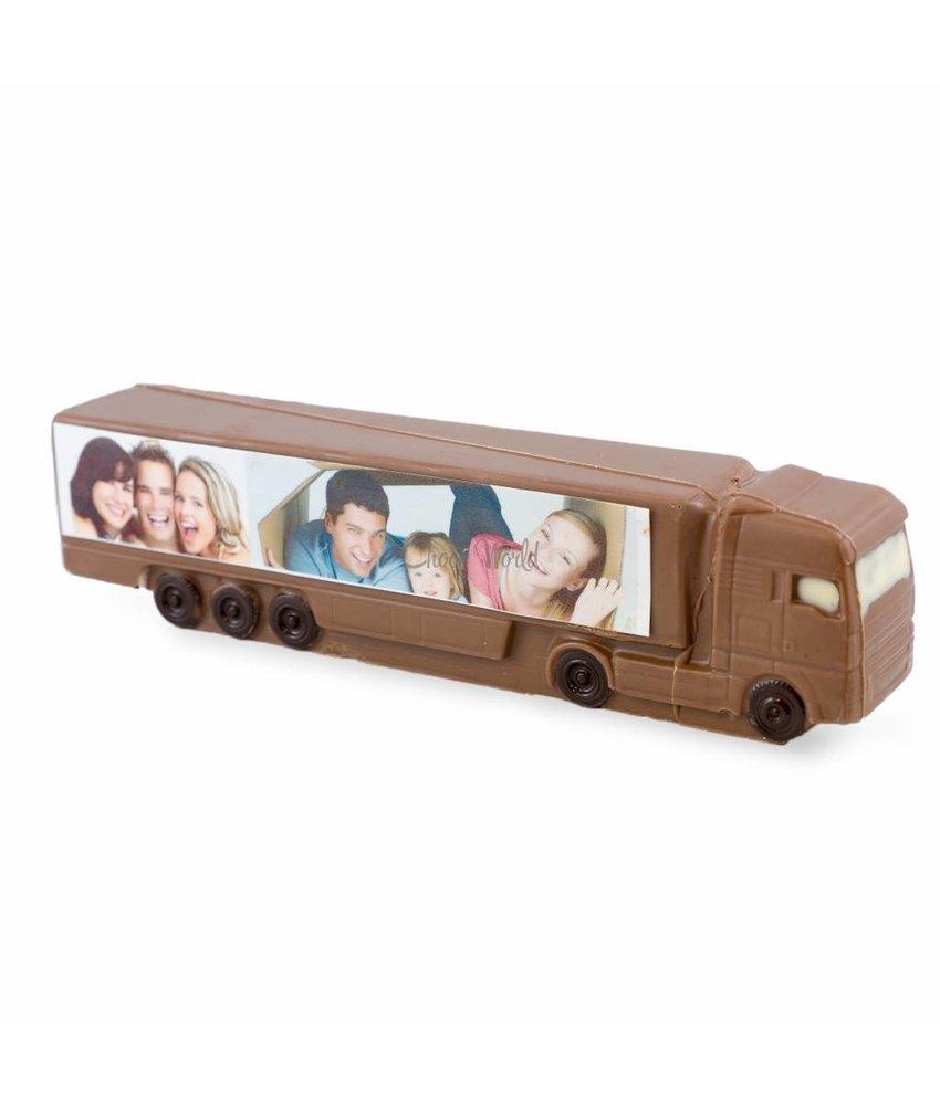 Chocolaterie Vink Vrachtauto met foto