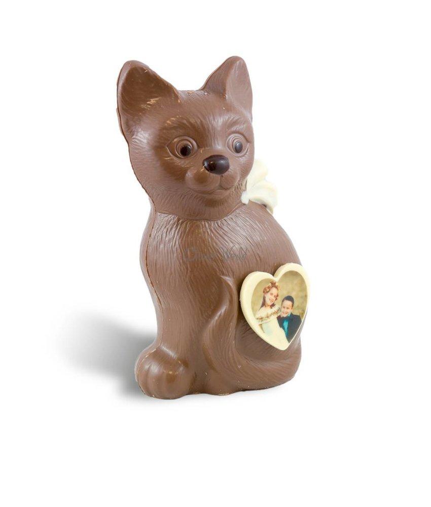 Chocolaterie Vink Poes met foto