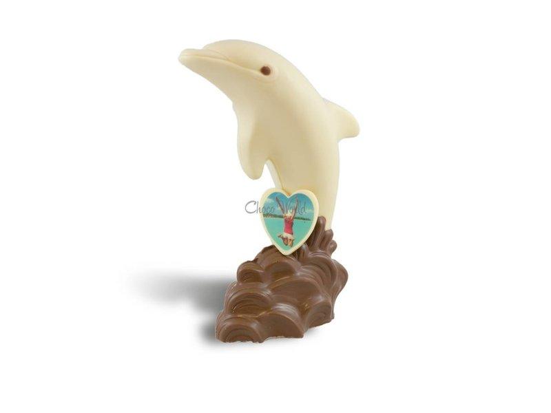 Chocolaterie Vink Dolfijn met foto