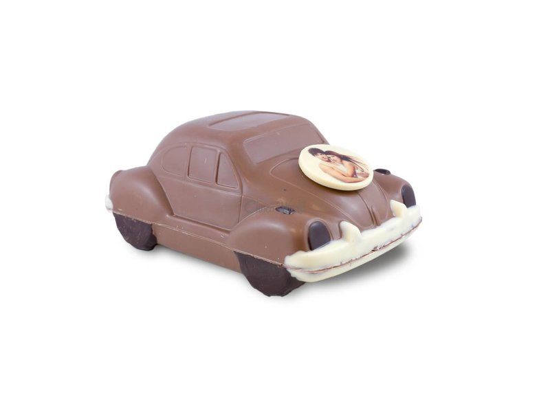 Chocolaterie Vink Volkswagen Kever met foto