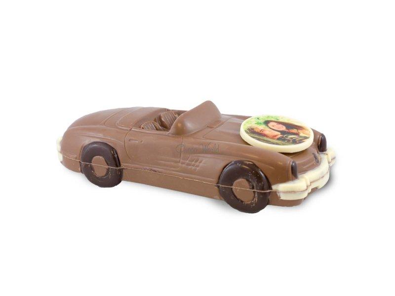 Chocolaterie Vink Auto Cabriolet met foto