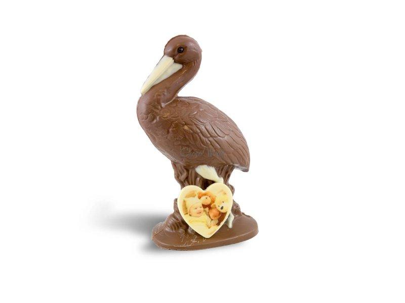 Chocolaterie Vink Ooievaar met foto