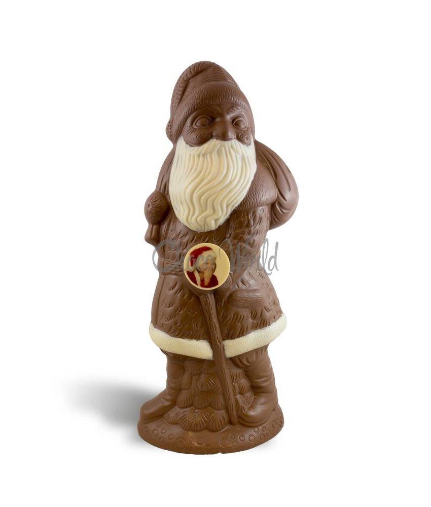 Chocolaterie Vink Kerstman met foto kingsize