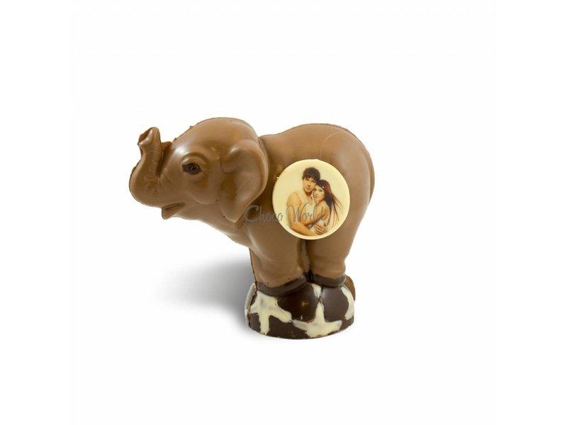 Chocolaterie Vink Chocolade Olifant met Foto