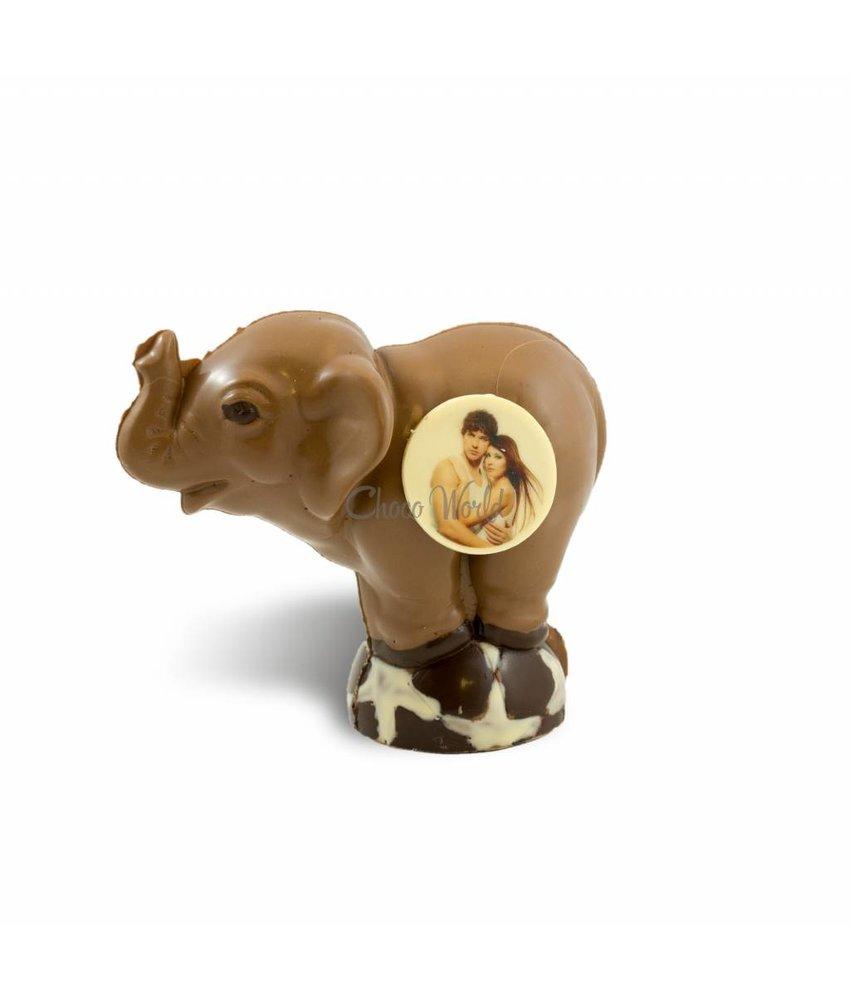 Chocolaterie Vink Olifant met foto