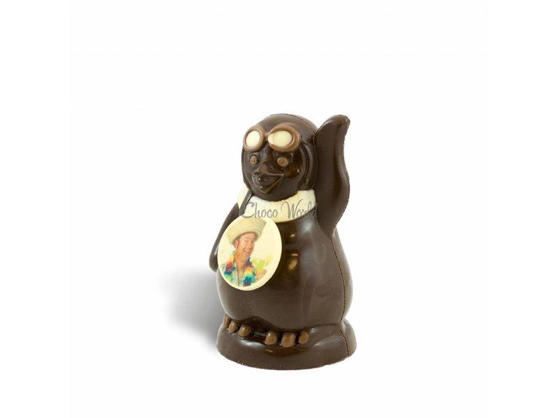 Chocolaterie Vink Chocolade Pinguïn met foto