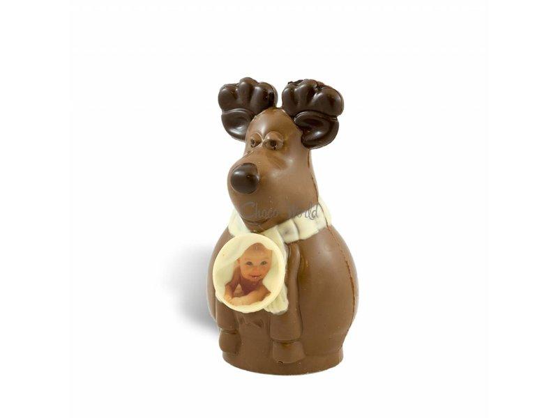 Chocolaterie Vink Chocolade Rendier Rudolf met foto