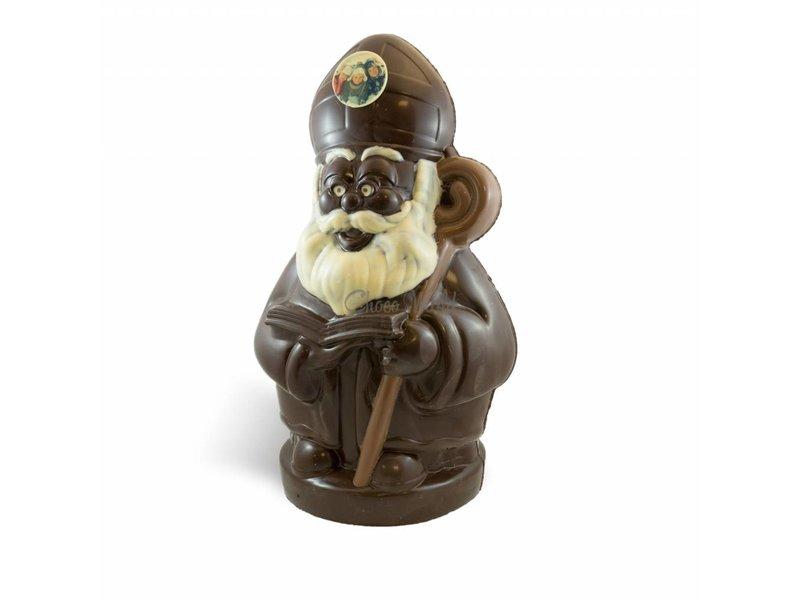Chocolaterie Vink Chocolade Sint Nicolaas middel met foto