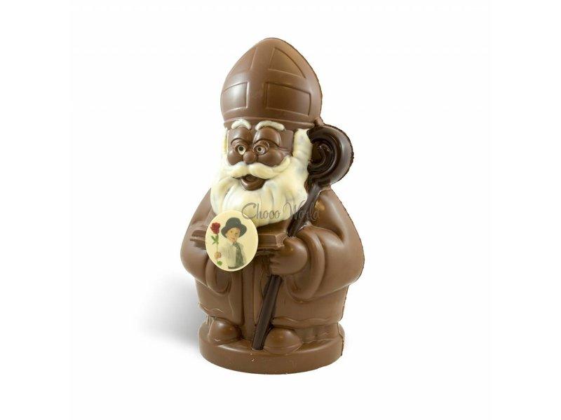 Chocolaterie Vink Chocolade Sint Nicolaas Kingsize / XXL met foto