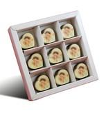 Chocolaterie Vink Bonbons Hartje Melk met Foto/Logo 9 stuks