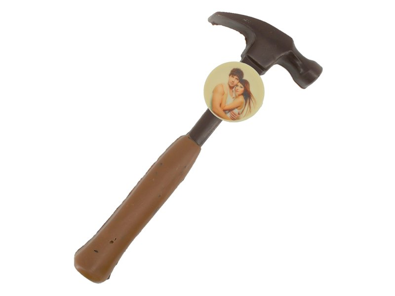 Chocolaterie Vink Chocolade hamer met foto
