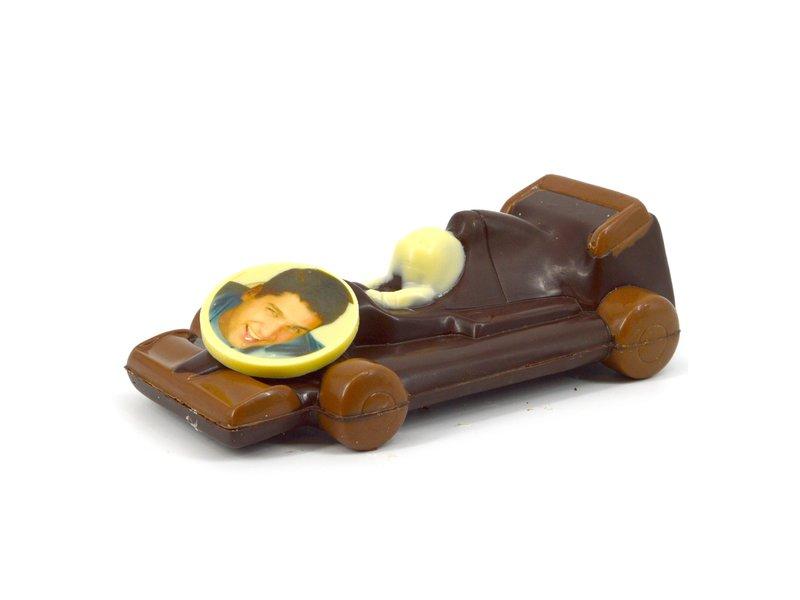 Chocolaterie Vink Racewagen met foto
