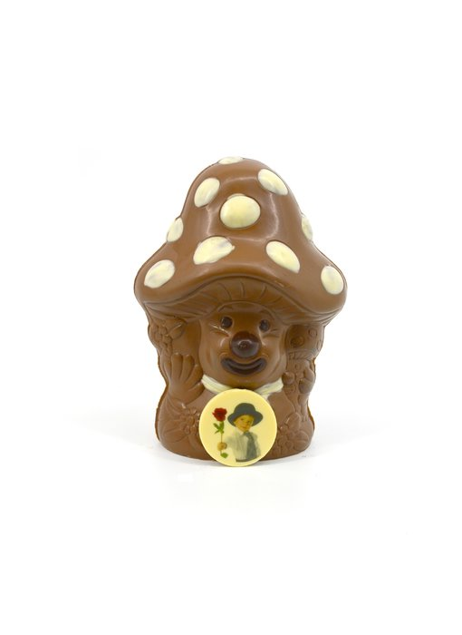 Chocolaterie Vink Paddestoel met foto/logo