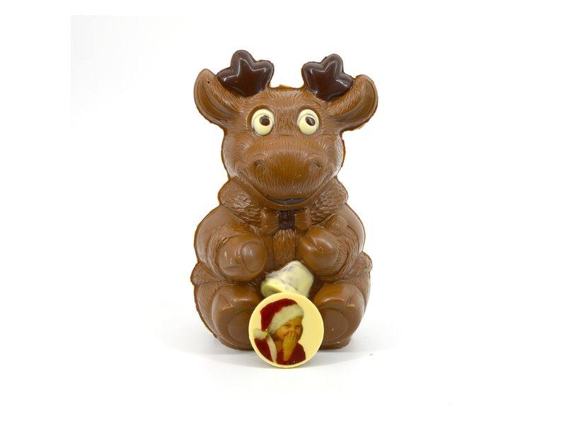 Chocolaterie Vink Rendier Victor met foto