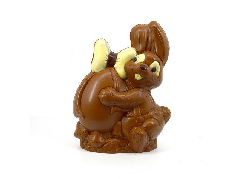 Chocolaterie Vink Paashaas met Ei kingsize