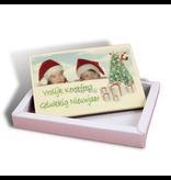 Chocolaterie Vink Kerstkaart klein