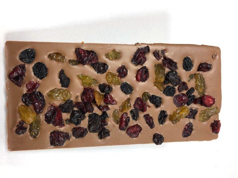 Chocolaterie Vink Reep groot cranberry rozijnen