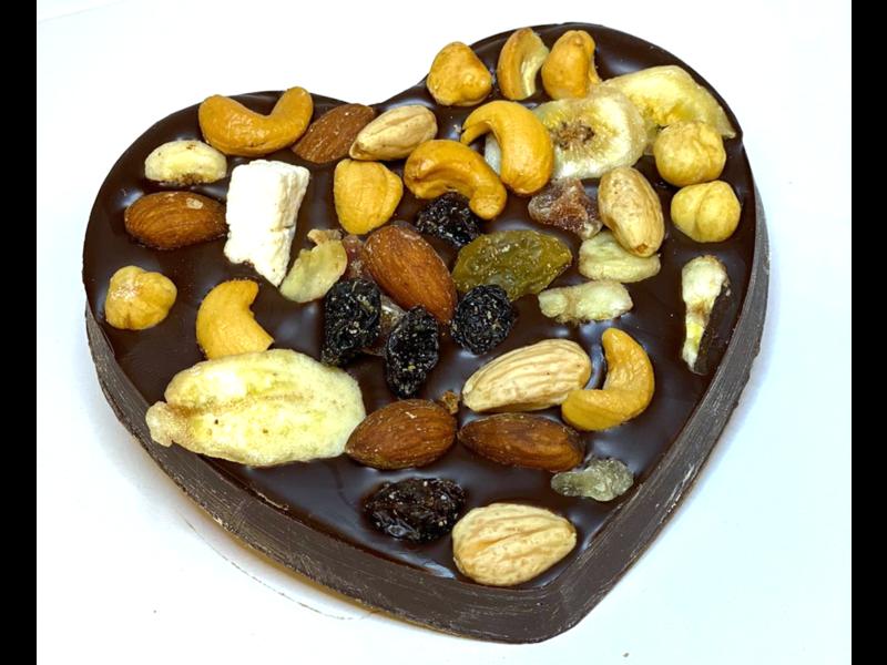 Chocolaterie Vink Hart klein met Tropicalmix