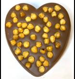 Chocolaterie Vink Hart groot met Hazelnoten