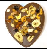 Chocolaterie Vink Hart groot met Tropicalmix