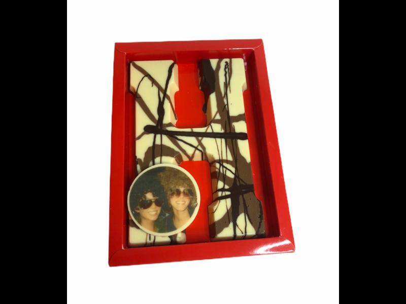 Chocolaterie Vink Letter Art Deco met foto