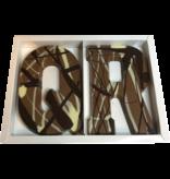 Chocolaterie Vink Letter Art Deco dubbel