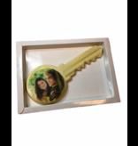 Chocolaterie Vink Sleutel met Foto/Logo