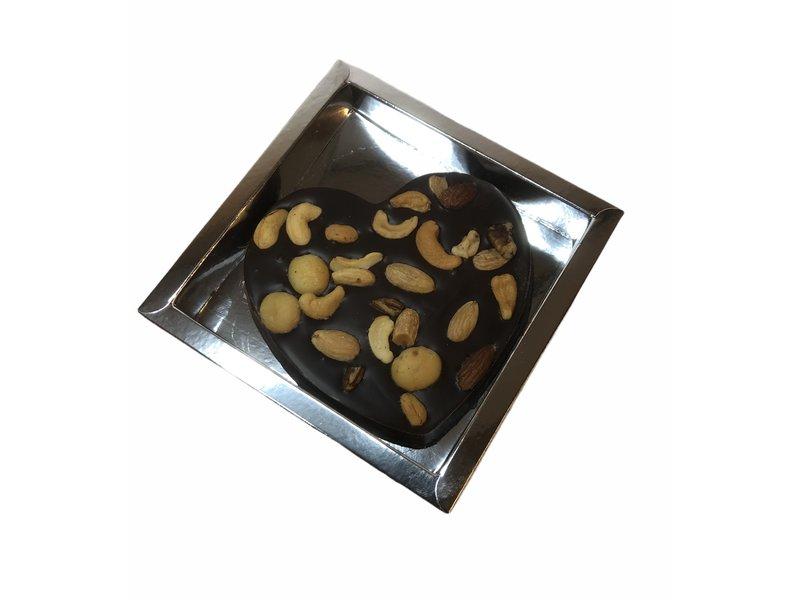 Chocolaterie Vink Hart Klein met Macadamia mix
