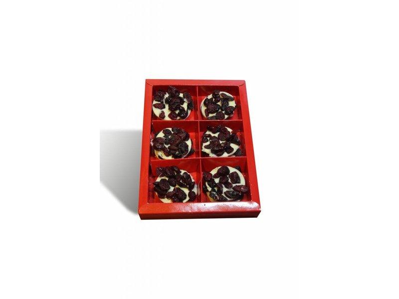 Chocolaterie Vink Flikken met cranberries